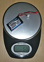 Name: DSCN9783.jpg Views: 69 Size: 105.2 KB Description: Battery 950mAh (heaviest): 50g