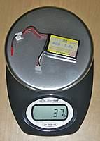 Name: DSCN9784.jpg Views: 93 Size: 105.9 KB Description: Battery 600mAh (lightest): 37g