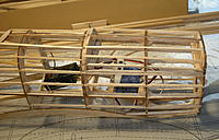 Name: DSCN9450.jpg Views: 336 Size: 216.6 KB Description: Fuselage with hatch in place. The RX position isn't decided yet.