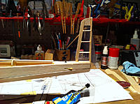Name: IMG_3349.jpg Views: 103 Size: 169.6 KB Description: Added ribs for rudder. Rough looking but will cover nicely with 1/16'.