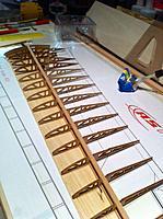 Name: IMG_3624.jpg Views: 91 Size: 153.1 KB Description: Dry fit top Sitka spruce spar, make adjustments as needed.