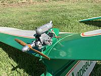 Name: IMG_0740.JPEG Views: 18 Size: 771.1 KB Description: Engine installed and ready for powered flight.