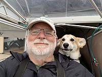 """Dog is my copilot""....."