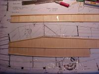 Name: MVC-004F.JPG Views: 844 Size: 59.8 KB Description: Fuselage sides, with 1/16th balsa vert grain and spruce longerons.  Do you see the mistake I made?