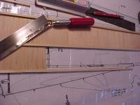 Name: MVC-005F.JPG Views: 694 Size: 55.1 KB Description: Additional length of spruce spliced in on bottom longeron.