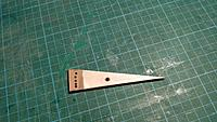 Name: IMG_20171202_191935.jpg Views: 3 Size: 988.8 KB Description: Front load bearing made out of carbon rod cut down to size. Holes drilled to allow wing to be raised or lowered. Could have been a bit better with the holes