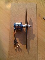 Name: 27.jpg Views: 151 Size: 92.8 KB Description: 56g motor, hopefully will be enough, fingers crossed.