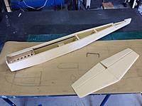 Name: IMG_0201.jpg Views: 144 Size: 1.24 MB Description: Main Fuse and tail section complete.