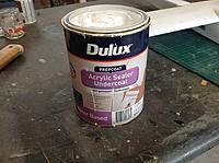Name: IMG_0191.jpg Views: 22 Size: 1.44 MB Description: Primer sealer. Easy to sand to a smooth finish and leaves a primed surface for painting.