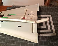 Name: IMG_0069.JPG Views: 17 Size: 950.1 KB Description: Permanent reflex added to the trailing edge of each wing , going from the elevators to the wingtips .