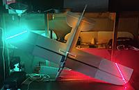 Name: IMG_0912.jpg Views: 3 Size: 723.1 KB Description: Top of plane with LEDs in diagonal lines to differentiate from the bottom of plane .