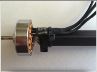 Name: Screen Shot 2019-05-08 at 6.21.46 PM.png Views: 23 Size: 595.6 KB Description: Motor inserted in motor mount with epoxy , then the wires are secured with a zip tie . And I write the kv on there with a silver sharpie .