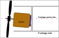 Name: Screen Shot 2019-09-08 at 12.07.36 PM.png Views: 4 Size: 70.5 KB Description: Washer ( shim ) added to give motor some right thrust .
