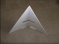 Name: Screen Shot 2020-09-04 at 6.21.11 PM.png Views: 2 Size: 676.9 KB Description: Glue wings together with some dihedral angle . Angle doesn't have to be exact , copy what you see in the video .