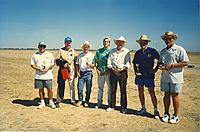 Name: 1996-10a NCSL at SVSS-Triebes, Dannenfelser Sr, French, Asnault, Nolte, Bush, Clausen.jpg Views: 68 Size: 193.3 KB Description: 1996. NCSL at SVSS - Triebes, Dannenfelser Sr, French, Asnault, Nolte, Bush, Clausen