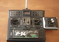 Name: SANY1553.jpg Views: 226 Size: 71.3 KB Description: This is my modified Robbe f14 navy Transmitter.