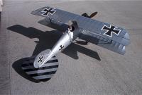 "Name: IM001013.jpg Views: 162 Size: 88.0 KB Description: AerodromeRC Albatros DVa, 36"" ws built by John Boeck"