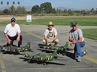 Name: Brent,Jim adn Russ's B-17's.jpg Views: 147 Size: 257.8 KB Description: