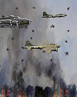 Name: Mikes Bombing run picture vert 10 _ 8 copy_w flak.jpg Views: 69 Size: 95.7 KB Description: