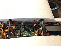 Name: Photo May 21, 10 56 01 AM.jpg Views: 58 Size: 380.1 KB Description: Pitlab OSD/autopilot installed in the instrument cradle.