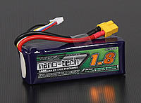 Name: 19121.jpg Views: 49 Size: 68.9 KB Description: Capacity: 1800mAh Voltage: 4S1P / 4 Cell / 14.8V Discharge: 65C Constant / 130C Burst Weight: 228g (including wire, plug & case) Dimensions: 103 x 35 x 31mm Balance Plug: JST-XH Discharge Plug: XT60