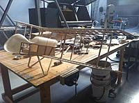 Name: IMG_0924.jpg Views: 113 Size: 250.2 KB Description: test fit with landing gear, wings, struts and tail booms