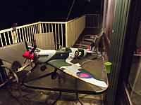 Name: FMS_Spitfire_Repaint 007.jpg Views: 311 Size: 203.4 KB Description: This is my Spitfire. I made some paper decals and gave her a paint job.