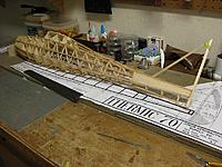 """Name: 001.jpg Views: 46 Size: 225.2 KB Description: The stringers on the fuselage sides are 1/8"""" square balsa, and the ones on the top and bottom are 1/8"""" square spruce and 3/32"""" square cypress."""