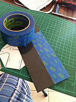 Name: IMG_0374.jpg Views: 81 Size: 158.4 KB Description: taping your carbon sheet is a good way to draw your designs on. it also help when you are cutting as it hold the dremil still
