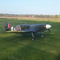 Name: IMG_1313.JPG Views: 3 Size: 176.3 KB Description: BlackHorse Spitfire MK IX 2000mm 30CC