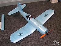 Name: F4a.jpg Views: 378 Size: 65.4 KB Description: A good example of a TFPF made using scale paper airplane construction methods and common FFF board.  The FFF is first rolled, cut, and the edges glue back together to form the fuselage.