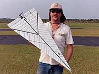 Name: PaperAirplane1.jpg Views: 290 Size: 15.6 KB Description: This is an idea I am currently working on using TFPF construction methods.  Very simple and some are made as prop in a slot jets.  Very few parts.