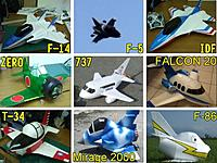 Name: PhatPlanes.jpg Views: 396 Size: 78.4 KB Description: A collection of TFPF jets and other projects made from 3mm Depron using scale model paper airplane construction methods.