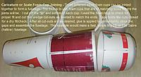 Name: FuselageCupMatch1.jpg Views: 214 Size: 67.5 KB Description: A basic foam cup fuselage and parts.  This could be the beginning of an F-86 Sabre, Mig-15, or any other aircraft fuselage real or imagined.
