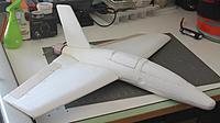 Name: TianFunJet.jpg Views: 205 Size: 295.3 KB Description: One example of a simple Titan toy glider conversion to an RC flyer.  This would be considered a heavy conversion since it is easy to miss what was the original design.