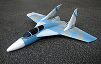 Name: DeltaWingF15Pusher.jpe Views: 112 Size: 145.3 KB Description: This example is likely to remind some of a number of twin tailed foam EDF park flyers.  I can think of at least two in the 50mm size.