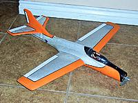 Name: TitanFrontMotorOrange.jpe Views: 354 Size: 168.4 KB Description: Not one of the more popular configurations, but a good basic build if you prefer to have the motor and propeller up front.  I tend to like the motor in the rear, but you do have to be mindful of the propeller if you are hand launching.