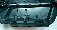 Name: case back.jpg Views: 1644 Size: 51.2 KB Description: Inside view of the case back that protrudes under the back grips.  Left side looking from the front of the system.  Top of the case to the left.  See the System Size and Weight section above for the thickness of the grips.