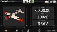 Name: screenshot-2100-10-16-61071.jpg Views: 870 Size: 32.6 KB Description: Here is an ETHOS screenshot from a Horus system to give some comparison between the X20 and Horus.  The pixel resolution is smaller on the Horus, but I think it looks pretty nice.