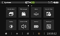 Name: screenshot-2021-01-03-71972.jpg Views: 647 Size: 54.7 KB Description: System Screen 1 - Touching the little gear icon on the main screen bottom bar displays the first screen for configuring the system.