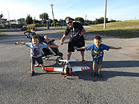 Name: Me and the 3 boys + Durafly T-28.jpg
