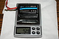 Name: DSC04923.jpg Views: 59 Size: 61.4 KB Description: $9 china 900ma 15c batt. This is as much as the motors can safely handle.