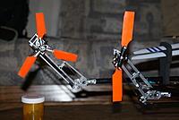 Name: DSC06131.jpg Views: 45 Size: 121.4 KB Description: Two new 450 based raised tail prototypes under development.