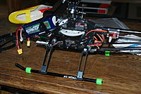 Name: DSC06062.jpg Views: 35 Size: 235.0 KB Description: Fabbing up custom CF skids and installing a larger 2200ma 6s. This setup only stayed this way for a week. Now it is being fitted for the 12s system.,