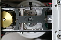 Name: DSC05789.jpg Views: 33 Size: 119.6 KB Description: One off lower cnc cut 3rd main support being fitted. This is temporary as the new one fits up inside the frame at the base of the MH gears.