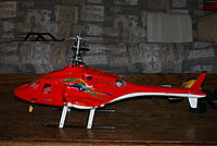 Name: DSC06226.jpg Views: 37 Size: 163.4 KB Description: This is the airwolf version. It is temp set on 500 skids as the retract system is being machined. 6s dual 4800ma brushless, Sk360/flymentor/ Olliw gyromixer