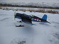 Name: On field with Skis.jpg Views: 203 Size: 53.9 KB Description: Obviously not scale but a fun mod to do and allows me to fly off of hard pack snow/ice in the winter months.