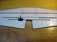 Name: IMG_6448.jpg Views: 76 Size: 128.7 KB Description: Finished product with CF in the horizontal stabilizer and in the elevator.