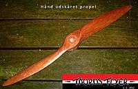 Name: Gas propeller.jpg Views: 79 Size: 239.9 KB Description: Hand carved propeller, Old design.