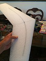 Name: image-c3bf9aba.jpg Views: 197 Size: 646.6 KB Description: The slot is cut and spar pre fitted into the wing.